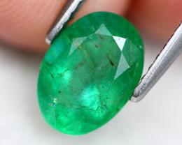Emerald 1.88Ct Vivid Green Zambian Emerald C2804