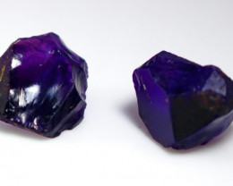 25.55 CT Unheated ~ Natural Purple color Amethyst Rough