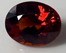 1.89ct Red Mozambique Garnet  - NO RESERVE AUCTION!