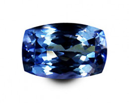 1.49 ct Gorgeous Top Color IF Natural Tanzanite Certified
