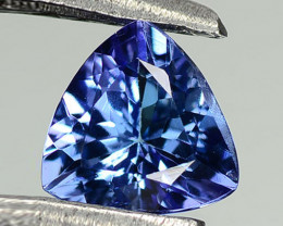 0.86 ct Gorgeous Top Color IF Natural Tanzanite Certified