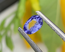 AAA+ Top Quality Natural Tanzanite 0.25 Carats