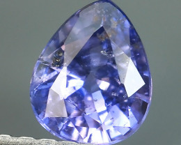 AWESOME BLUE SAPPHIRE FACET GENUINE  PEAR MADAGASCAR