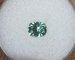 1,42ct Mint Tourmaline - Master cut & glowing!