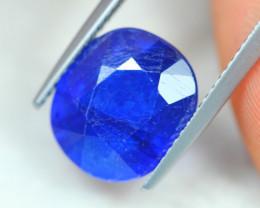 6.70Ct Blue Sapphire Oval Cut Lot LZ3104