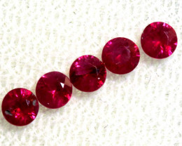 0.86 CTS NATURAL RUBY FACETED STONE PARCEL PG-2716