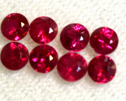 1.34 CTS NATURAL RUBY FACETED STONE PARCEL PG-2717