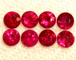 1.21 CTS NATURAL RUBY FACETED STONE PARCEL PG-2719