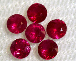 0.92 CTS NATURAL RUBY FACETED STONE PARCEL PG-2721