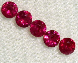 0.76 CTS NATURAL RUBY FACETED STONE PARCEL PG-2722