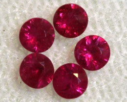 0.61 CTS NATURAL RUBY FACETED STONE PARCEL PG-2728