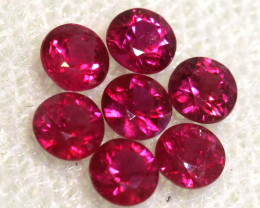 0.84 CTS NATURAL RUBY FACETED STONE PARCEL PG-2729