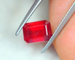2.69ct Ruby Octagon Cut Lot GW4426