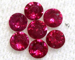 0.84 CTS NATURAL RUBY FACETED STONE PARCEL PG-2723