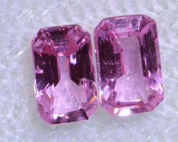 0.80 CTS-  PINK SAPPHIRES FACETED PAIR PG-2748
