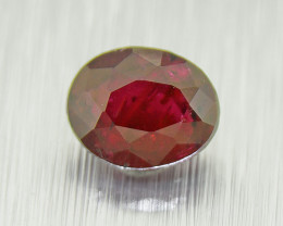 Ruby natural, UNHEATED  0.55ct 'pigeon blood' (01584)