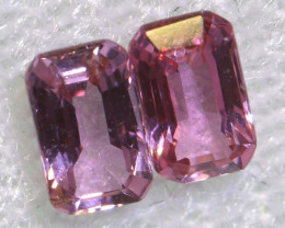 0.83 CTS-  PINK SAPPHIRES FACETED PAIR PG-2750