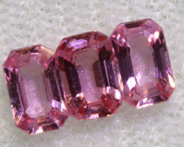 0.85 CTS-  PINK SAPPHIRES FACETED PARCEL PG-2753