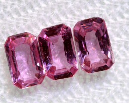 1 CTS-  PINK SAPPHIRES FACETED PARCEL PG-2754