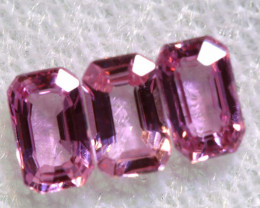 1.08 CTS-  PINK SAPPHIRES FACETED PARCEL PG-2755