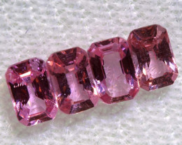 1.35 CTS-  PINK SAPPHIRES FACETED PARCEL PG-2757