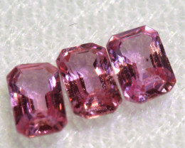 0.98 CTS-  PINK SAPPHIRES FACETED PARCEL PG-2767