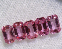 1.89 CTS-  PINK SAPPHIRES FACETED PARCEL PG-2769