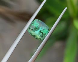 1.15 Ct Natural Greenish Transparent Tourmaline Gemstones