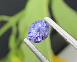AAA++ Top Grade Natural Tanzanite 0.60 Carats