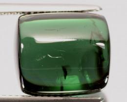 13.28 Cts Natural Green Tourmaline Cabochon Nigeria