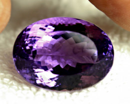 CERTIFIED - 48.34 Carat VVS Brazil Purple Amethyst - Gorgeous