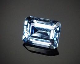 2.48ct Aquamarine Emerald cut