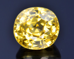 2.86 Ct Natural Zircon Awesome Color and Luster Gemstone ZR2