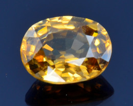 2.09 Ct Natural Zircon Awesome Color and Luster Gemstone ZR7
