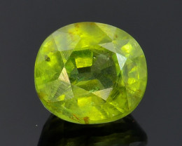 1.51 Ct Hyacinth  Zircon Awesome Color and Luster Gemstone HZ2
