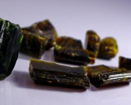348.45 Cts Beautiful, Superb  Brown Epidot Crystal Lot