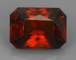 9.50 Cts Natural Reddish Orange Hessonite Garnet Round Cut Beautiful!!