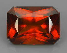 8.25 CTS EXCELLENT TOP LUSTER HESSONITE GARNET BEAUTY..