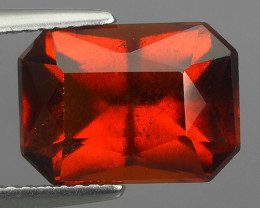 7.15 Cts Natural Reddish Orange Hessonite Garnet Round Cut Beautiful!!