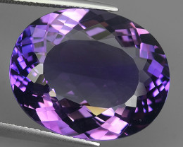 23.95 CTS SUPERIOR! TOP PURPLE-VIOLET-AMETHIYST GENUINE