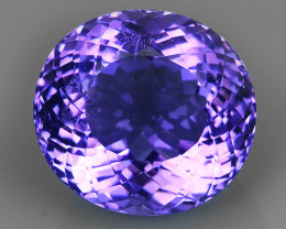 23.50 CTS SUPERIOR! TOP PURPLE-VIOLET-AMETHIYST OVAL GENUINE