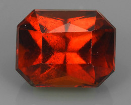 7.30 CTS EXQUISITE NATURAL UNHEATED RED  HESSONITE GARNET