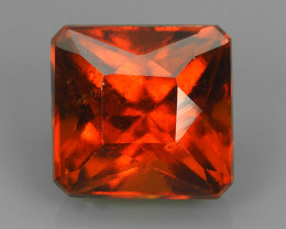 4.25 CTS EXQUISITE NATURAL UNHEATED RED  HESSONITE GARNET~EXCELLENT!!