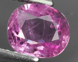 AWESOME PINK SAPPHIRE FACET GENUINE OVAL HEATED MADAGASCAR