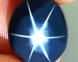 5.32 Carat Thailand Natural Black Star Sapphire - Gorgeous