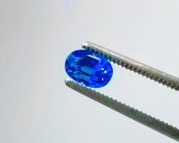 3.19 Ct CERTIFIED Vibrant Blue Ceylon Sapphire Gemstone