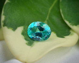 Top Quality Neon Blue Lustrous  Paraiba Tourmaline 1.40 Carats