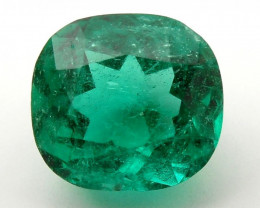1.90 ct Natural Colombian Emerald Green Loose Gemstone