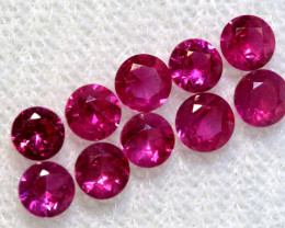 1.30 CTS NATURAL RUBY FACETED STONE PARCEL PG-2774
