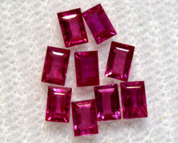 1.17 CTS NATURAL RUBY FACETED STONE PARCEL PG-2778